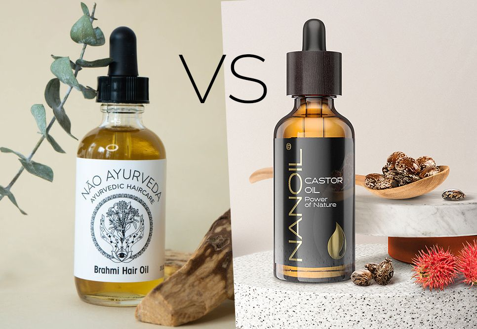 Brahmi oil and castor oil
